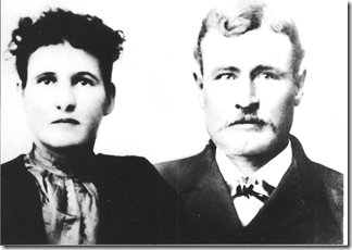 James H & Florence Bunce abt 1896
