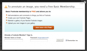 Footnote - Free Basic Membership