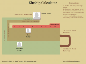 Kinship Calculator